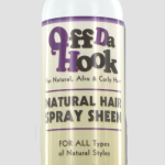 natural hair sheen